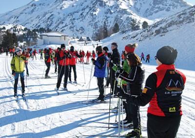 I Carrera de esquí nórdico de orientación