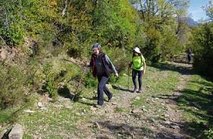 Marcha senderista Sierra de los Ríos