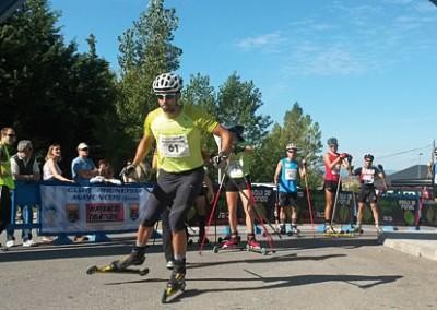 III Subida a Rapitán con Roller-ski, patines y en bicicleta