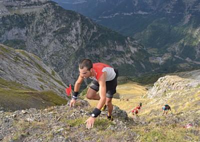 """III Kilómetro Vertical de Canfranc Subida a """"El Porté"""" 2.440 m."""