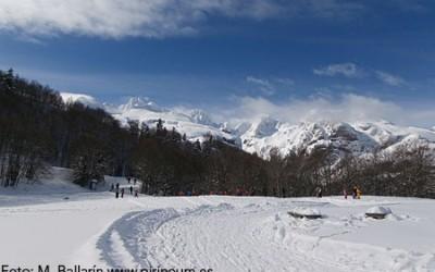 Competiciones de BTT-marcha y esquí de fondo, este fin de semana en el Valle de Aspe