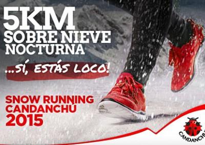 1º Snow Running Candanchú 2015