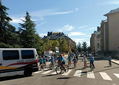 Fiesta de la Bicicleta y de los Patines en la Jacetania