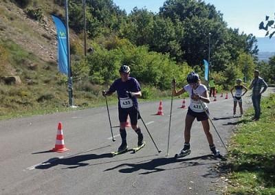 IV Puyada a Rapitán con Roller-ski, patines y en bicicleta