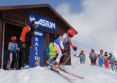 """XVII Trofeo Alevín esquí alpino """"Valle de Astún"""""""