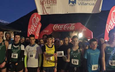 Éxito de participación en la San Silvestre de Villanúa 2016