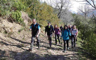 Este domingo, en Hecho, marcha senderista Sierra de los Ríos