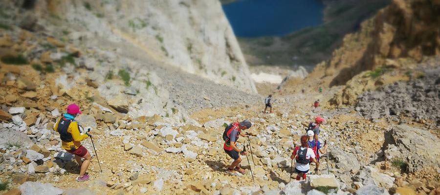 Canfranc-Canfranc: Ultra-Trail®, MARATÓN, kilómetro vertical descenso