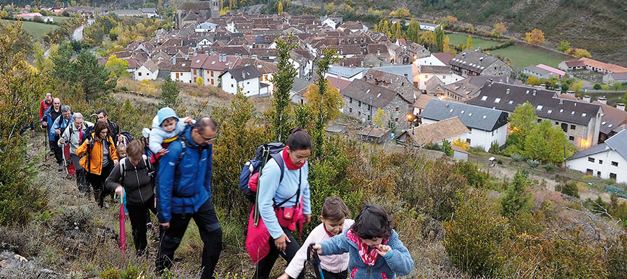 Marcha senderista de Otoño Valle de Ansó