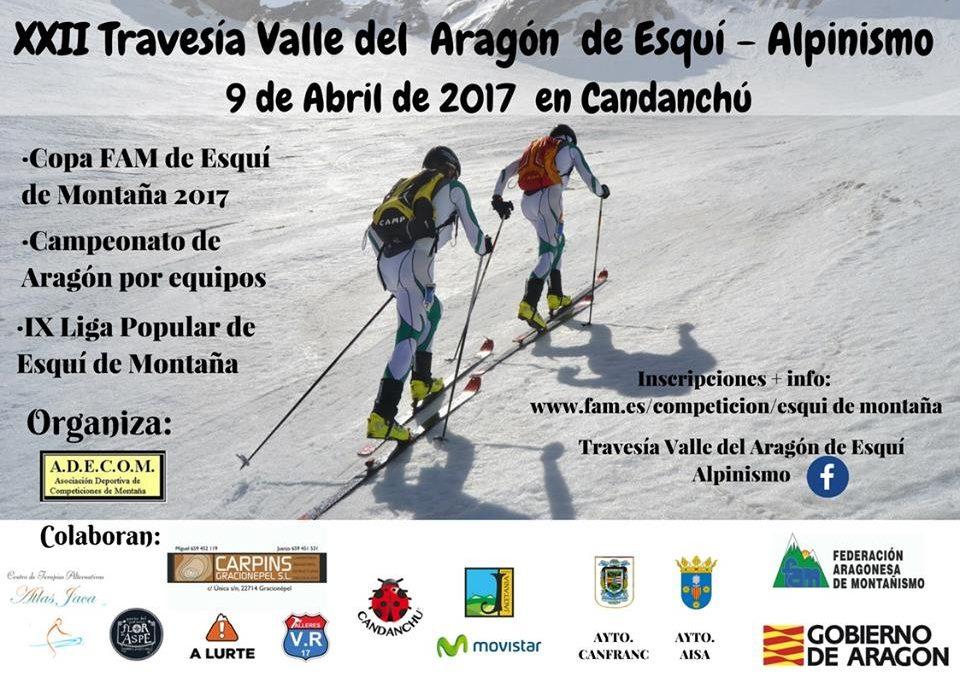 Todo listo para la XXII Travesía Valle del Aragón de Esquí Alpinismo