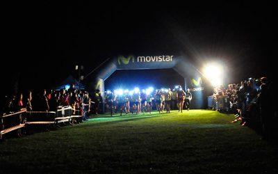 Un centenar de corredores en la III Full Moon de Villanúa