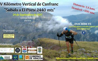 Abiertas inscripciones para el V Kilómetro Vertical de Canfranc