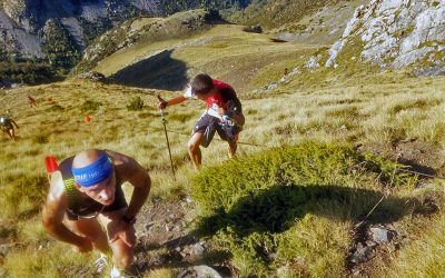 Toño Algueta y Vanesa Pascual, vencedores del Kilómetro vertical de Canfranc