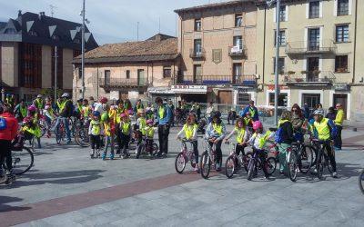 Este domingo las bicicletas toman Jaca