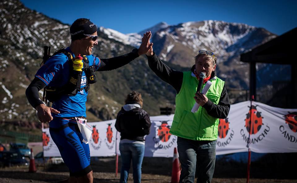 Bernat Borrás y Patricia Taillebresse se llevan la cuarta edición del Maratón Blanco Jacetania