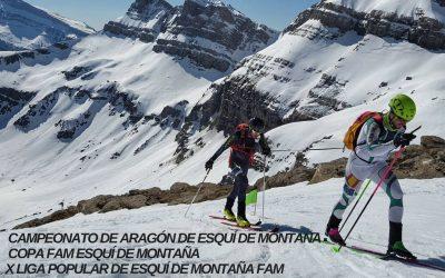 Llega la Travesía Valle del Aragón de Esquí Alpinismo