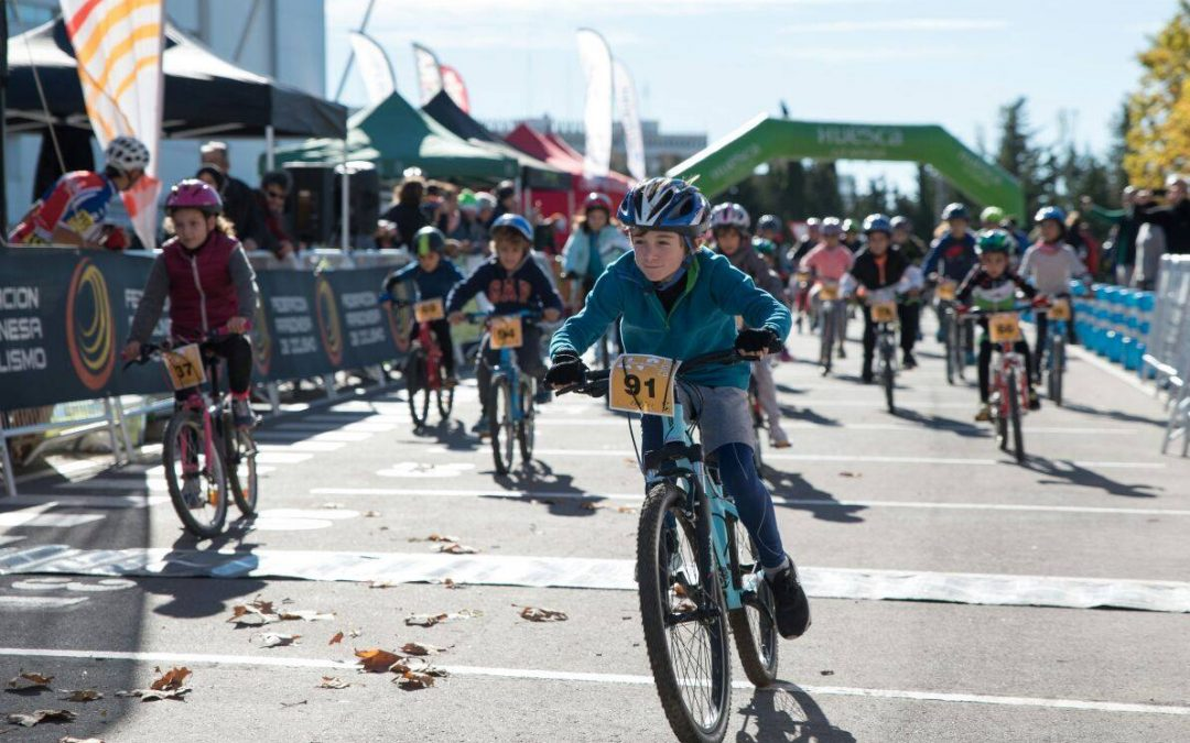 Liga Escolar «Aula en Bici» este sábado en Jaca