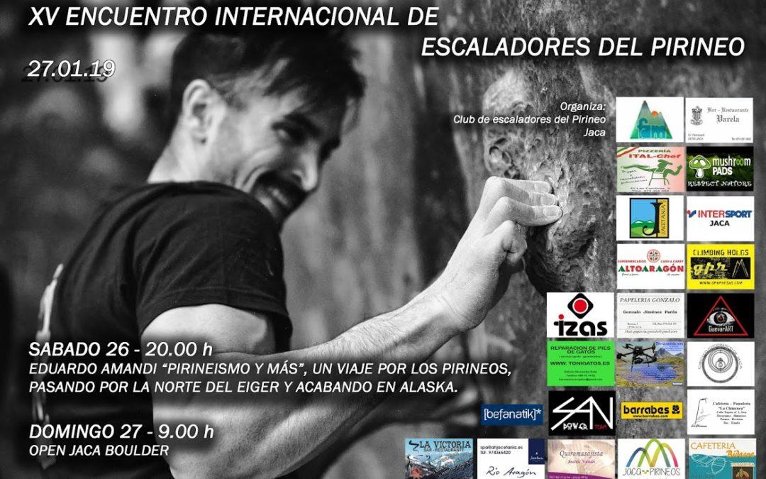Encuentro de Escaladores del Pirineo este fin de semana en Jaca