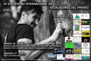 Encuentro internacional de Escaladores del Pirineo