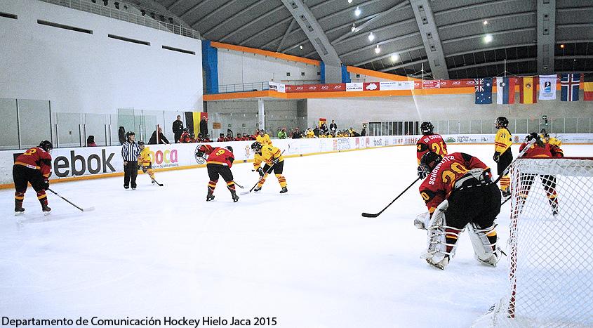 Mundial Hockey Femenino Div 1 Grupo B U18 Women's World Championship. © Departamento de Comunicación Hockey Hielo Jaca 2015
