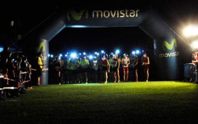 Villanúa celebra su quinta carrera a la luz de la luna llena