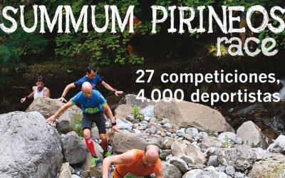 27 competiciones y 4.000 deportistas en Summum Pirineos Race 2019