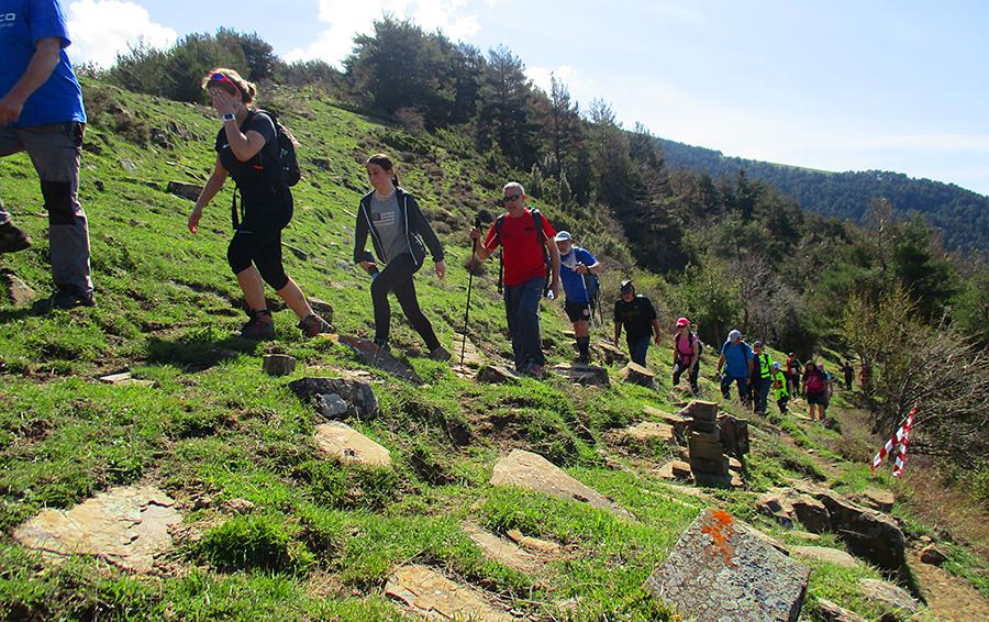 Llega la XII Marcha senderista Sierra de los Ríos