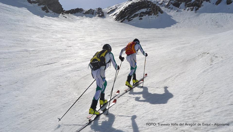 Todo listo para la Travesía Valle del Aragón de Esquí – Alpinismo