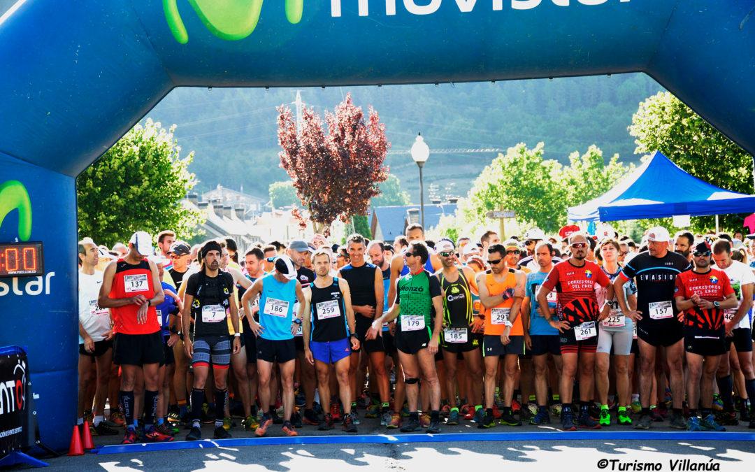 Casi 400 personas convierten la XV Subida a la Fuente El Paco en una gran fiesta del atletismo