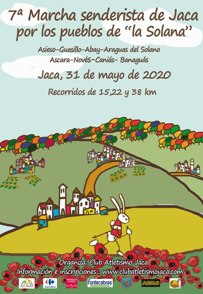 Marcha Senderista de Jaca por los pueblos de la Solana