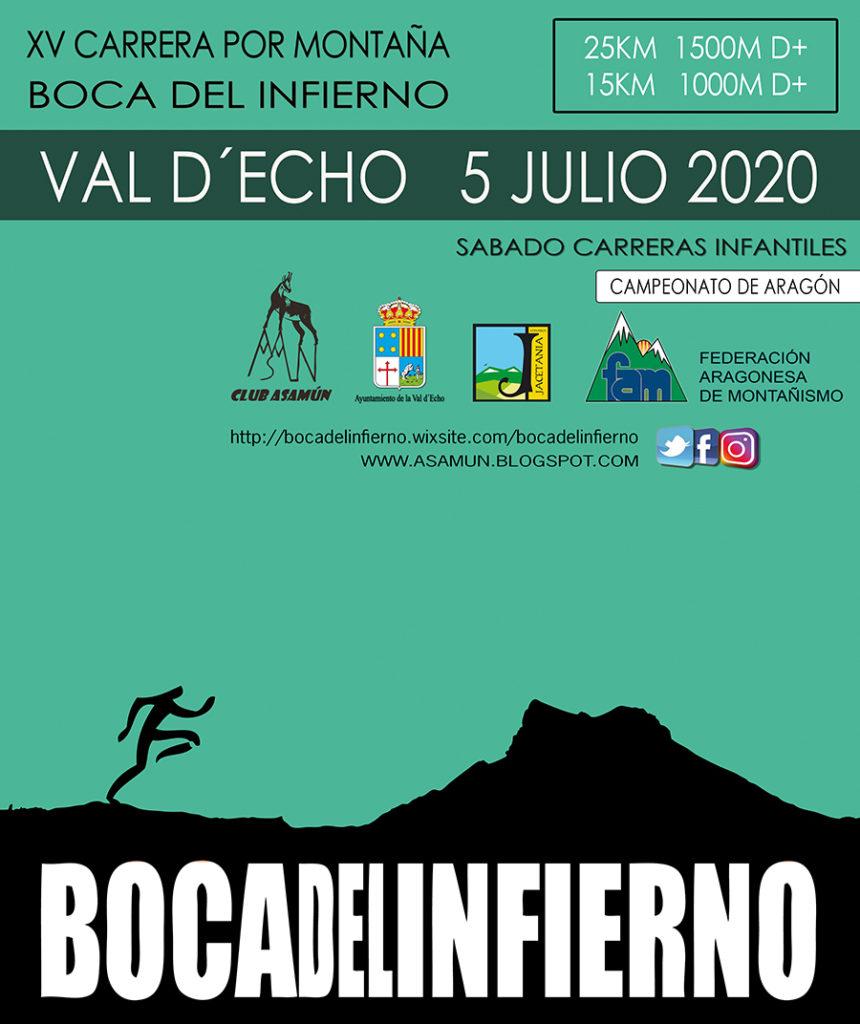 "XV Carrera por montaña ""Boca del Infierno"""