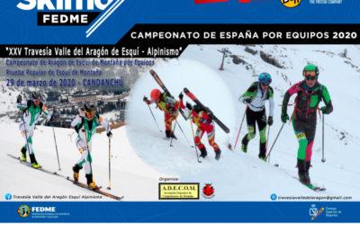 Inscripciones abiertas para la XXV Travesía Valle del Aragón de Esquí Alpinismo
