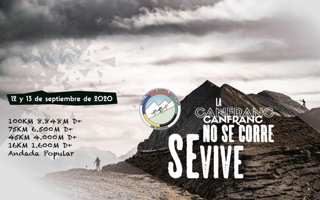 SEGUIMOS ADELANTE POR AHORA CON LA CANFRANC-CANFRANC 2020: