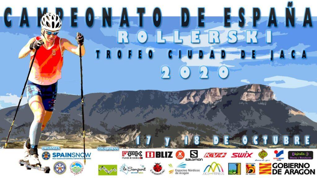 Jaca, sede de los Campeonatos de España de Rollerski
