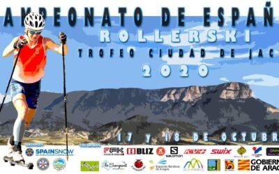 Campeonatos de España de Rollerski, el 17 y 18 de octubre en Jaca