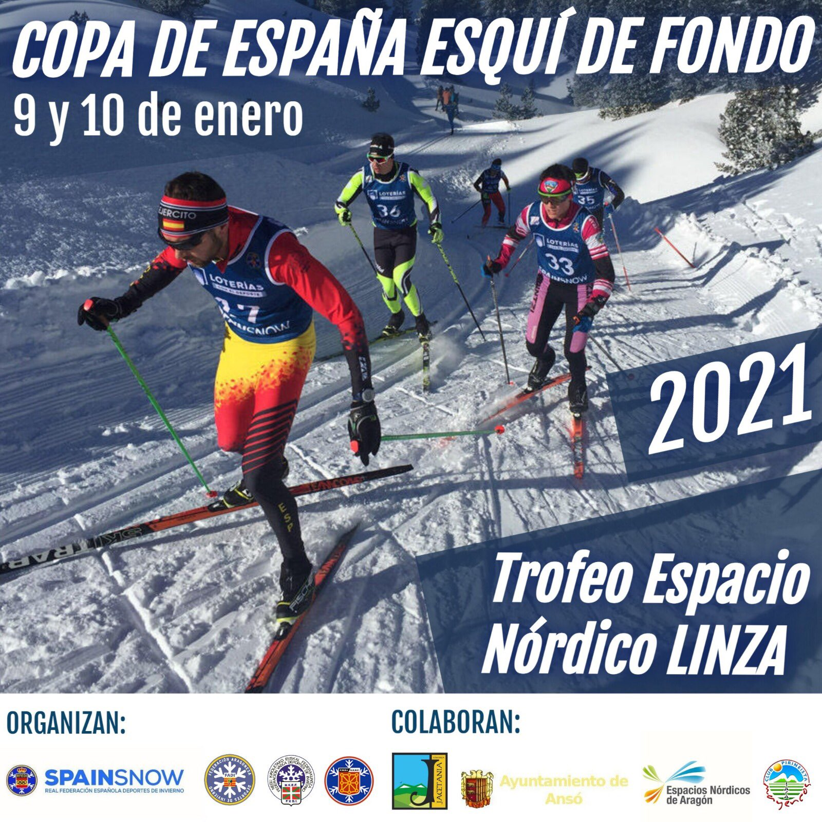Copa de España de Esquí de Fondo FIS. Trofeo Espacio Nórdico Linza