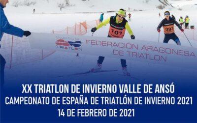 Llega el Campeonato de España de Triatlón de Invierno a Ansó