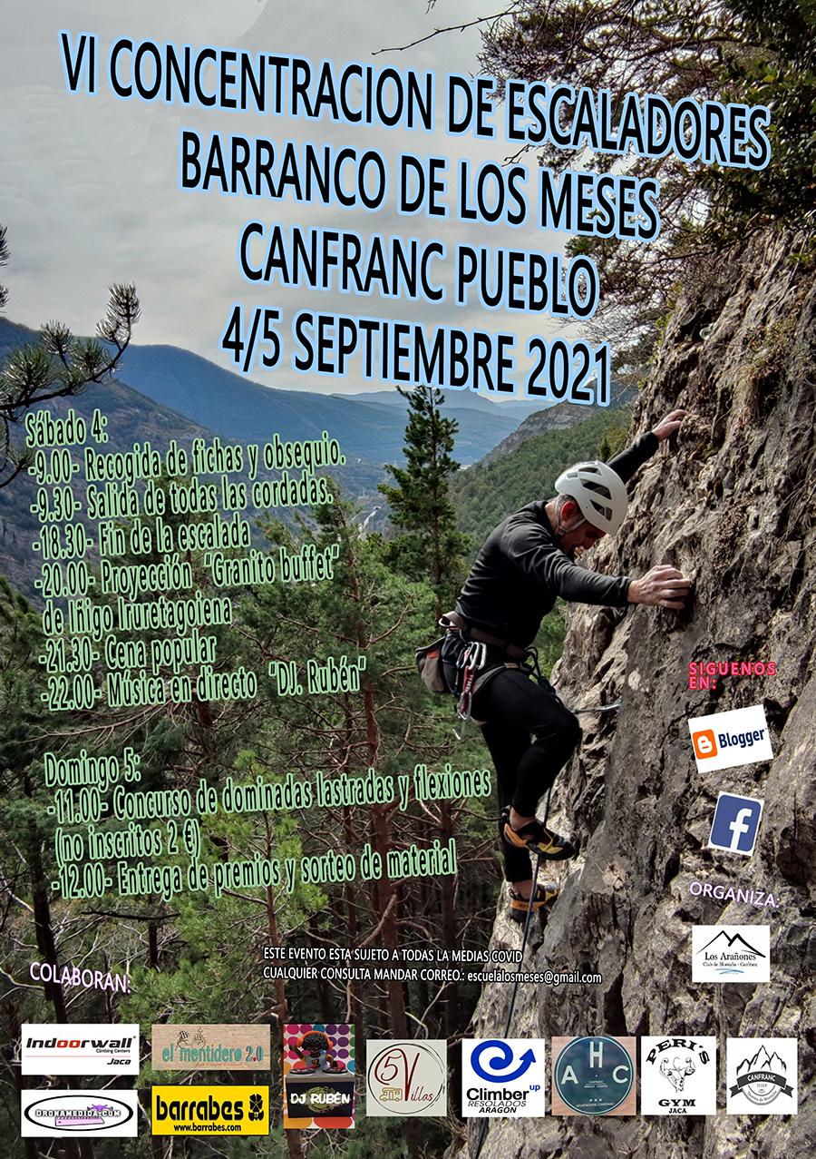 VI Concentración de Escaladores Barranco de Los Meses