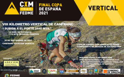 Todo listo para el VIII Kilometro Vertical de Canfranc «Subida a El Porté 2440 mts.»