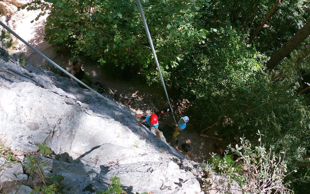 Encuentro de escaladores Canfranc Pueblo