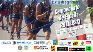 III Trofeo de Rollerski Ciudad de Jaca, Campeonatos de España de la temporada 2021-2022.